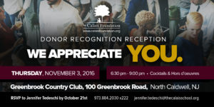 Join The Calais Foundation Nov 3, 2106 to celebrate our major donors.