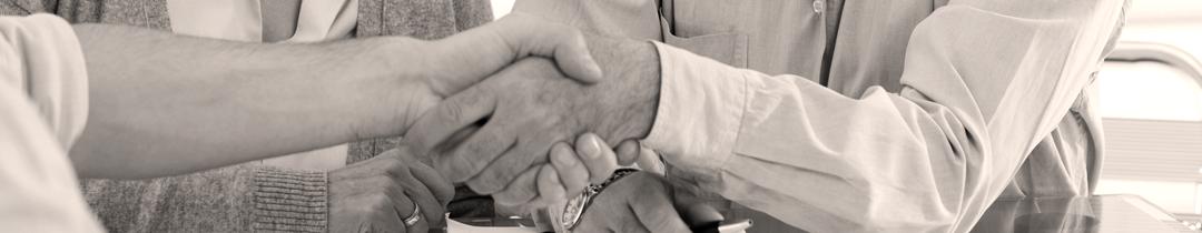 Calais Foundation Sponsors - shaking hands